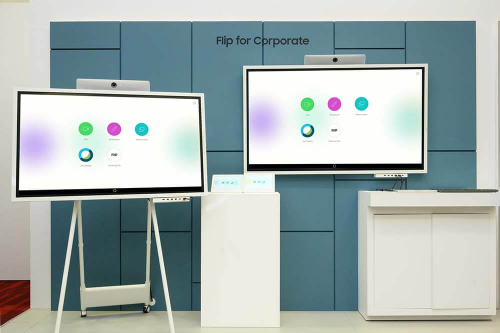 Samsung выпустил обновленную модель флипчарта Flip 2